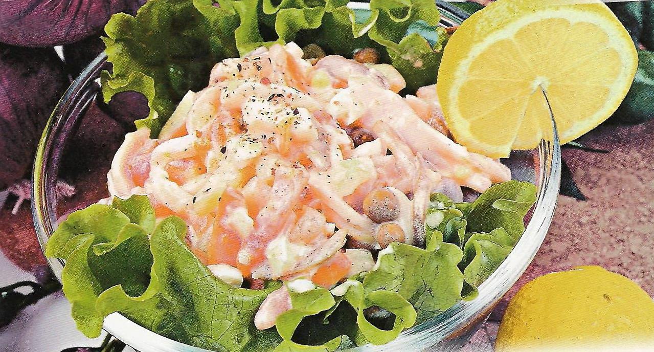 Праздничные салаты рецепты
