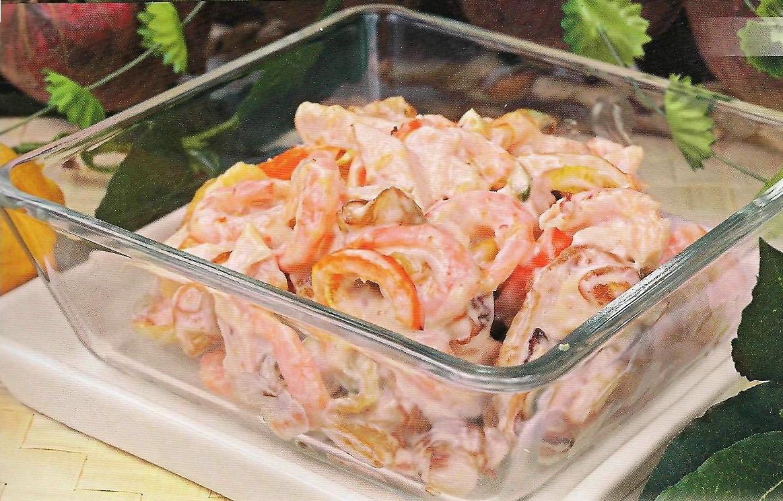 салаты из вареного мяса рецепты с фото