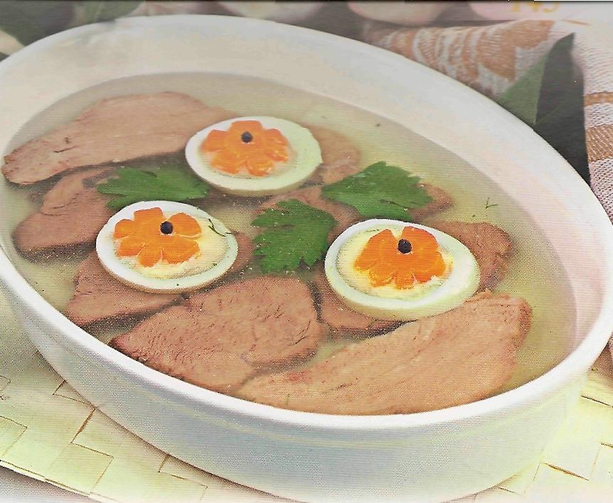 Заливное из мяса с желатином рецепт пошагово 64
